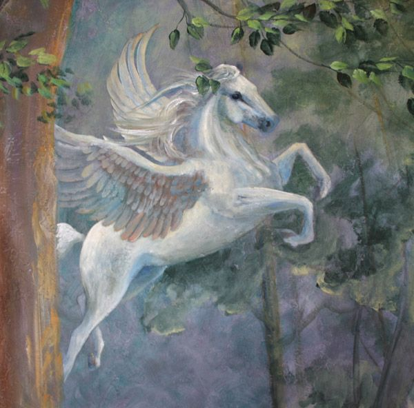 40 Best Images About Unicorn Mural Amys Room On