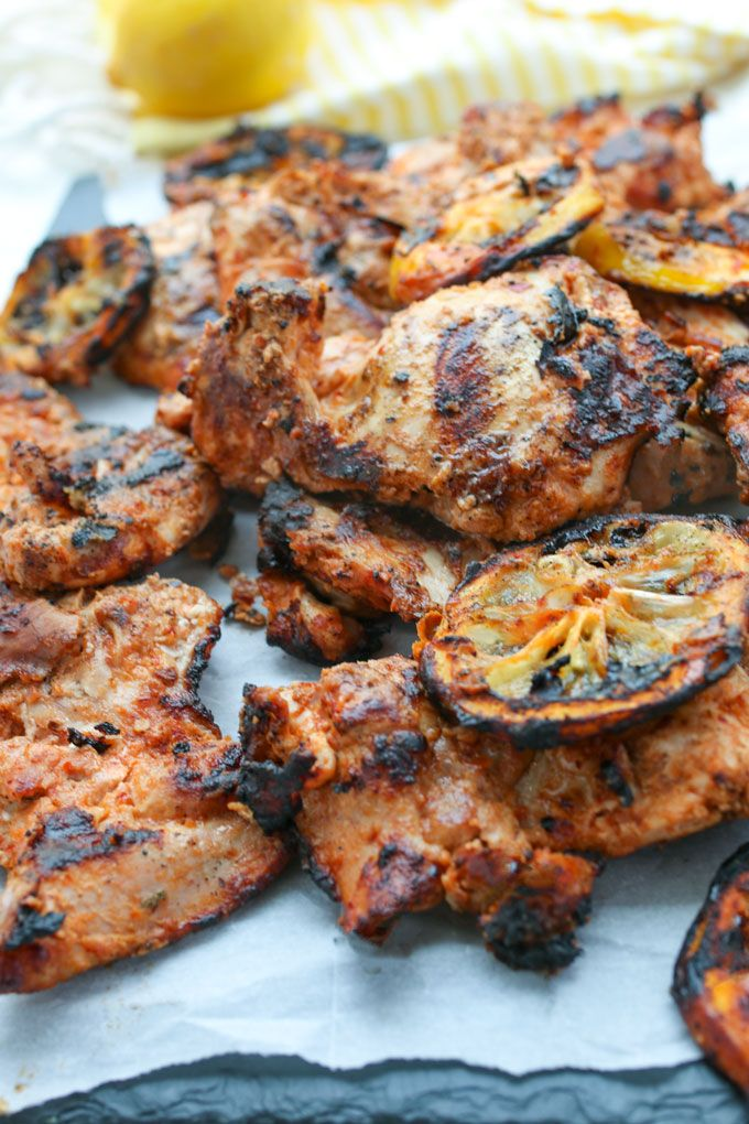 Grilled Aleppo Pepper Chicken Thighs Recipe L Panning The Globe Recipe Stuffed Peppers Chicken Thigh Recipes Aleppo Pepper Recipes