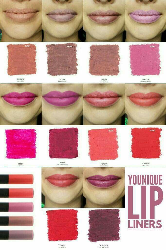 Younique Moodstruck Precision Lip Pencils www.abcyounique.com