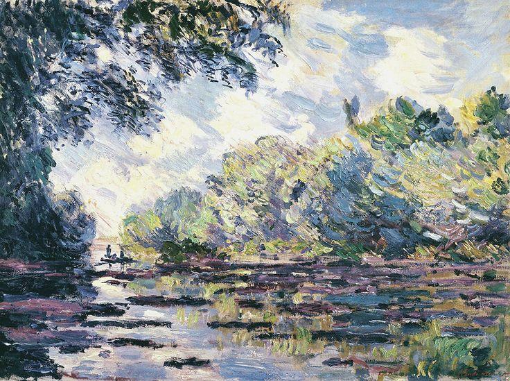 Odcinek Sekwany, w pobliżu Giverny, 1885