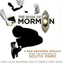The Book of Mormon musical bye Rolling Stones