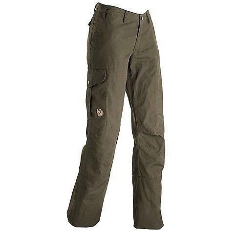 Fjallraven Karla Trouser - Women's by Fjallraven. $109.95. DECENT FEATURES of the Fjallraven Women's Karla Trouser Map pocket, axe pocket, internal safety pocket Low waist, regular fit and performance cut Map pocket, multi tool pocket Leather Logo The SPECS Fit/Waist: Regular Fit/Low Waist Fabric: G-1000 Silent: 65% polyester 35% cotton Brushed Reinforcement: Yes Leg Ending: Raw Length Leg Type: Full Leg Weight: 436 g