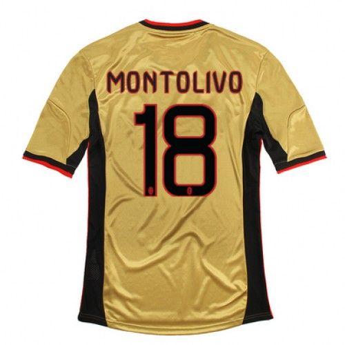 Maglia AC Milan 2013-2014 3rd 18 MONTOLIVO