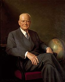 Herbert Hoover, West Branch, 31st President of the United States
