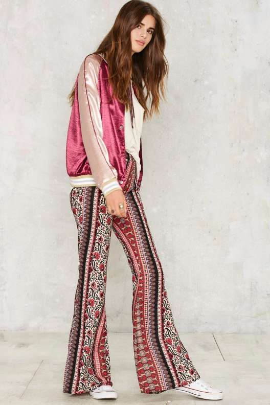 Miles of Aisles Flare Pants