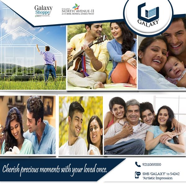 Own a space to spend some moments of love and peace with your loved ones.. #TheGalaxyGroup #ThankfulThursday #GalaxyDiamondPlaza #GalaxyBlueSapphire #LuxuriousResidential #GalaxyVega #GalaxyApartment #CommercialProject #ResidentialProject