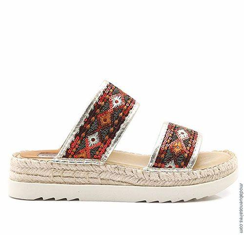 48a0c7463a872 Moda en calzado femenino primavera verano 2018. Sandalias