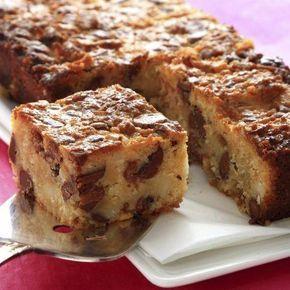 Bizcocho de manzanas, caramelo y nueces. Descubre nuestra receta.