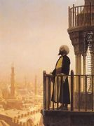 The Muezzin  by Jean-Léon Gérôme
