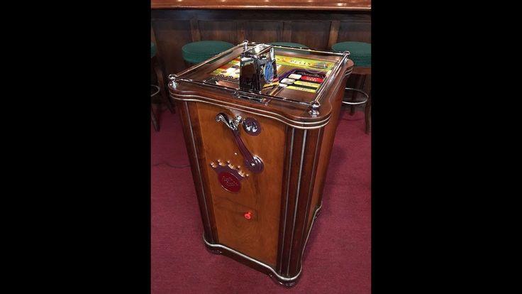 1940's 25 Cent PACE REELS Console Slot Machine FOR SALE $7,995