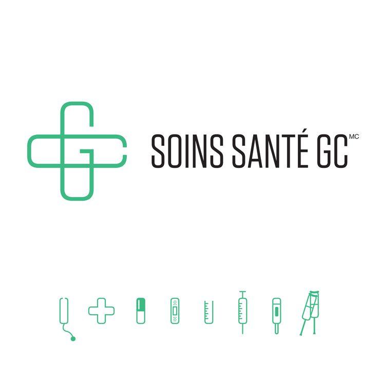 Voici la nouvelle identité corporative de Soins Santé GC, une création d'Agence Team ! #agenceteam #agencemarketing #branding #logo