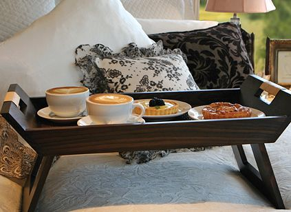 Breakfast Trays For Bed Gorgeous 19 Best Breakfast Trays Images On Pinterest  Bed Tray Trays And 3 Design Decoration
