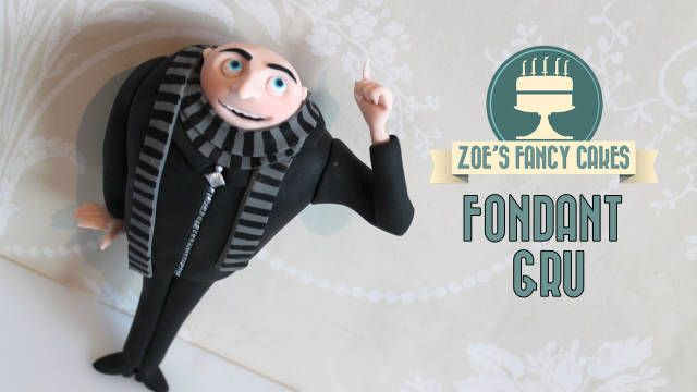 Despicable me Gru Cake topper :) - CakesDecor
