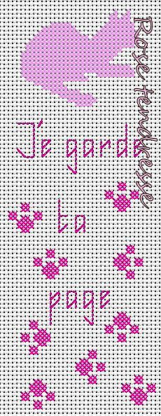 grille broderie marque page 10