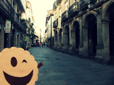 Rúa do Vilar, Santiago de Compostela @LaGalletaMolona