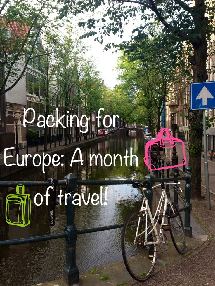I only traveled through Europe for about a month, but I think these tips can help anyone backpacking across Europe for any given time. Because, realistically you want the least amount of clothes to…