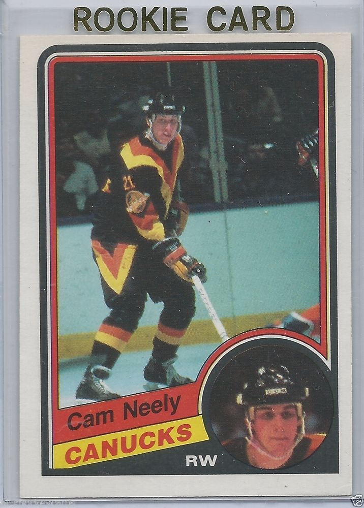 Cam Neely RC 1984-85 OPC Vancouver Canucks # 327 NM-MT