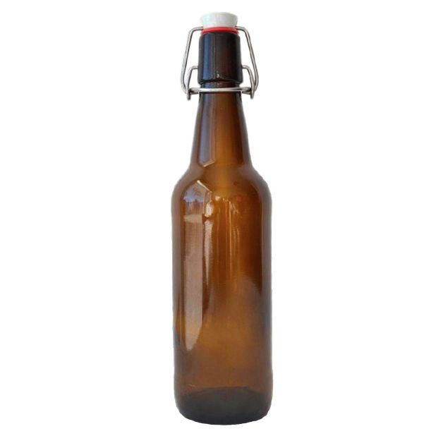 500 ml Swing Top. Botella de vidrio ideal para cervezas.