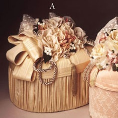 Elegant Hat Boxes     http://www.favorsandflowers.com/images/elegant-hat-boxes-1.jpg