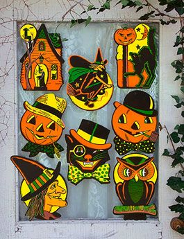 CLASSIC HOLIDAY: HALLOWEEN Vintage Halloween decorations from the Beistle Company.