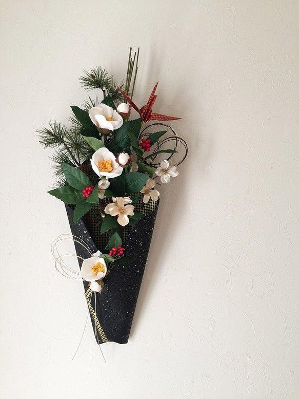 お正月飾り ICHIMATSU 黒