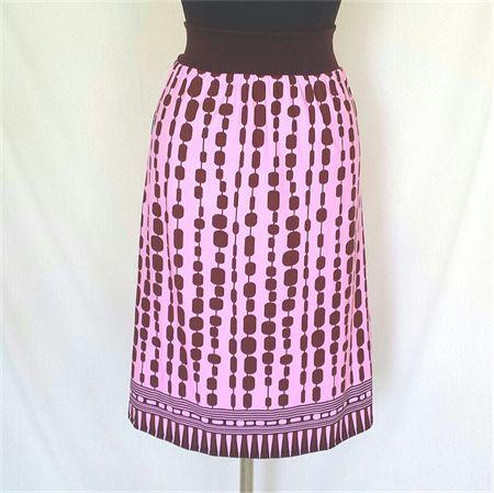 Handmade Women's Skirt easy fit, soft lightweight fabric, minimal care, size small