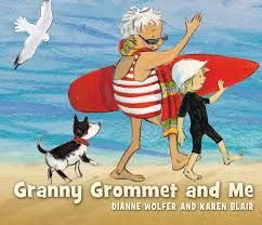 Granny Grommet and Me- 2014 shortlisted CBCA book Interactive literacy activities by Irene Buckley label rock pool creatures water safety beach colouring