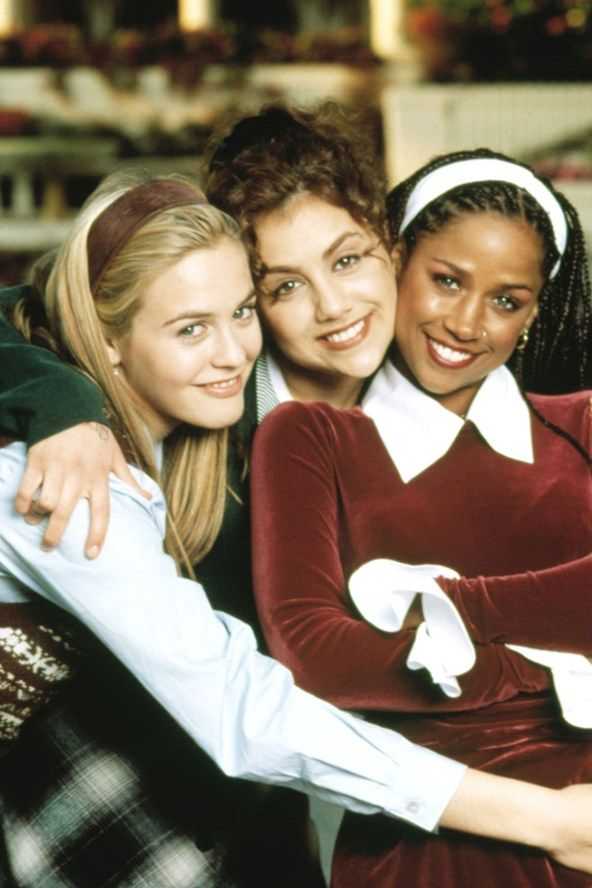 Alicia Silverstone, Brittany Murphy and Stacey Dash