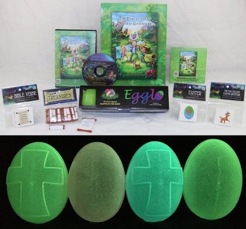 52 best religious easter ideas images on pinterest easter ideas religious easter egg hunt adventure glowing eggs negle Images