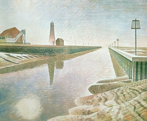Eric Ravilious RYE HARBOUR