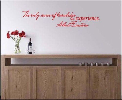 decorazione adesiva adesivi murali frasi citazioni albert einstein