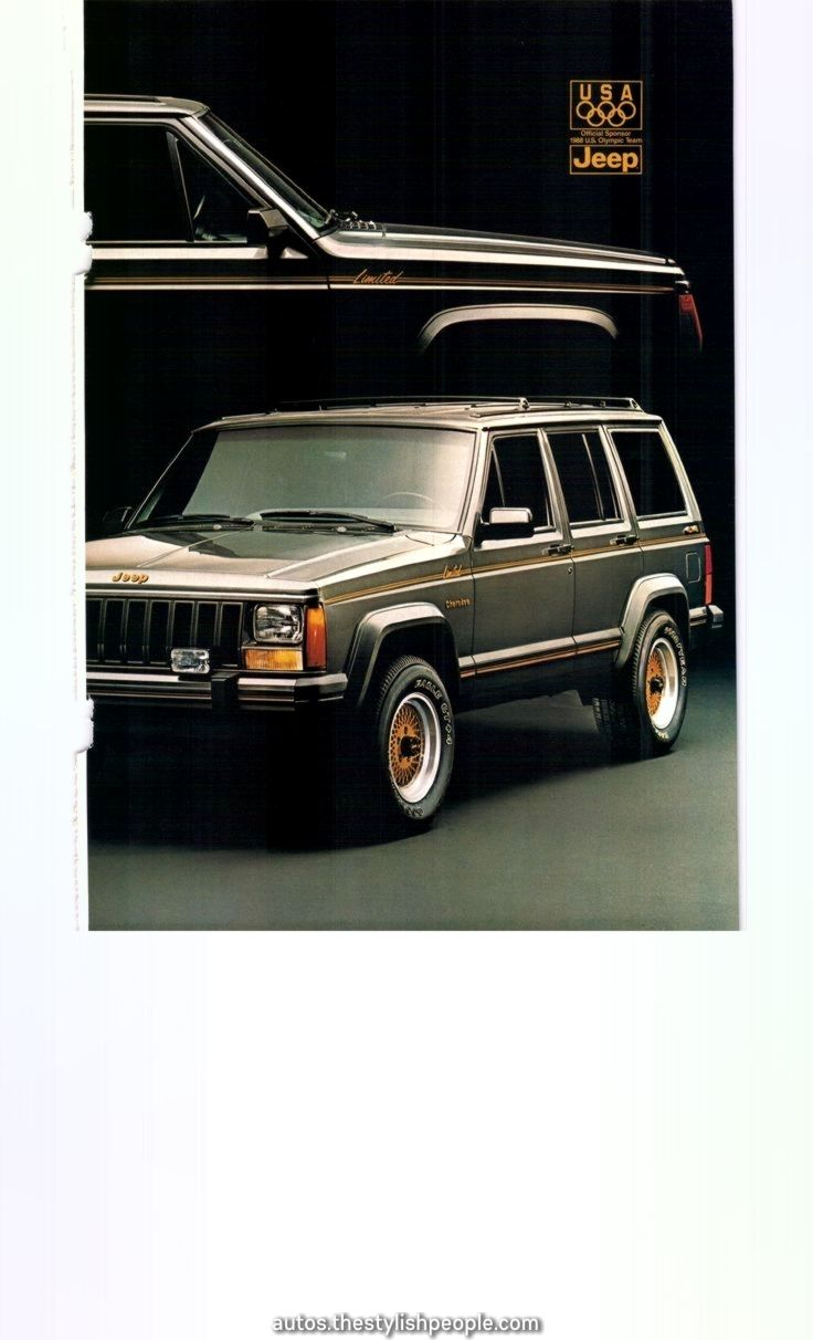 19jeep Cherokee Restricted Ad2 Nationwide Geographic August 1987