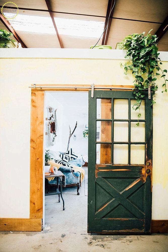 857 best barn doors room dividers images on pinterest for Barn door dividers