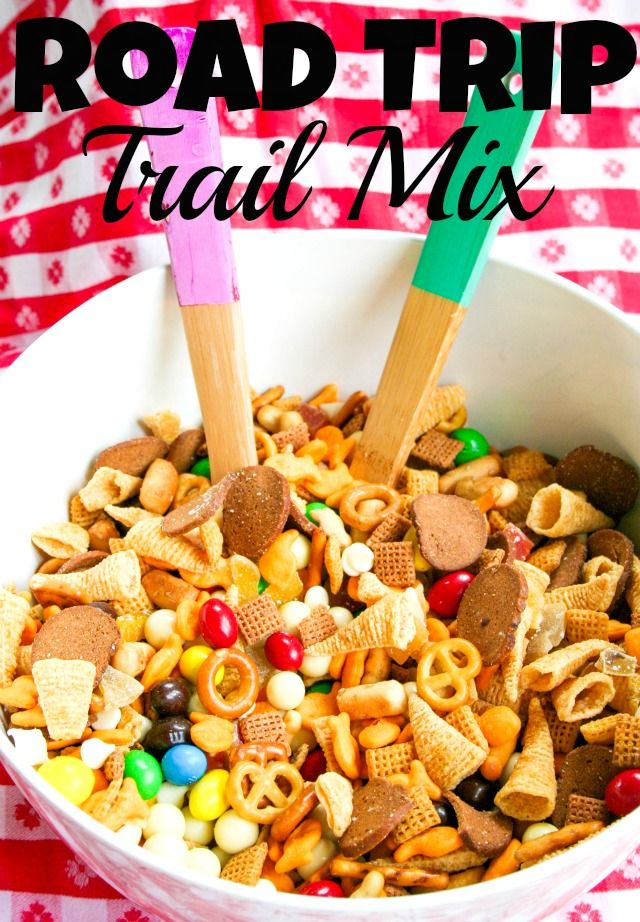 Road Trip Trail Mix~  Great for parties too! Kids love it!