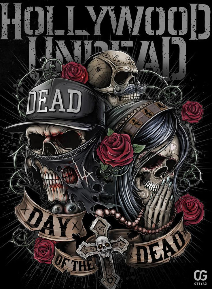 My illustration for Hollywood Undead contest at Creative