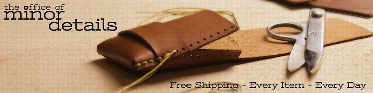 Handmade leather Wallets and Cases.  The best slim wallets, made to last.