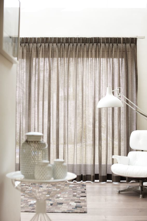taupe sheer curtains kobes maroa collection online winkel webshop meubelstof kobe mystic