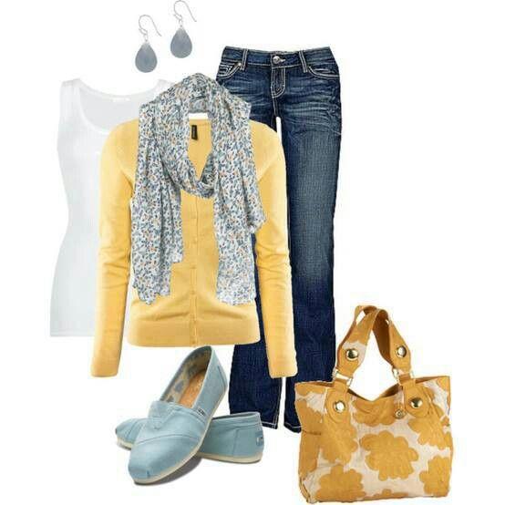 Spring Outfit instylefashionone.com