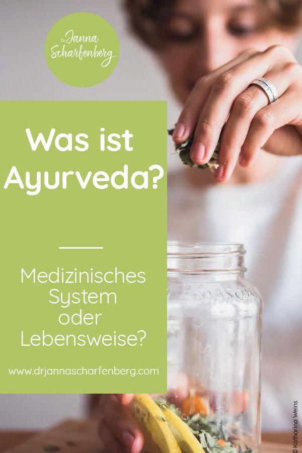 Der Begriff Ayurveda bedeutet die Wissenschaft des Lebens und ist nicht nur ein … – Gudrun Schlenker