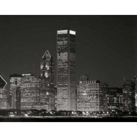 Downtown Chicago II Canvas Art - Bob Stefko (24 x 30)