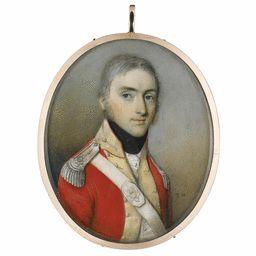 Thomas Hazlehurst Portrait of an officer