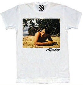 Hitler on Holiday T-shirt coming soon at www.hennie-t.com
