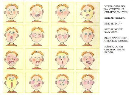 ...MOJE MAMINKA... - Fotoalbum - PRACOVNÍ LISTY - pracovní list - obličeje 1. část