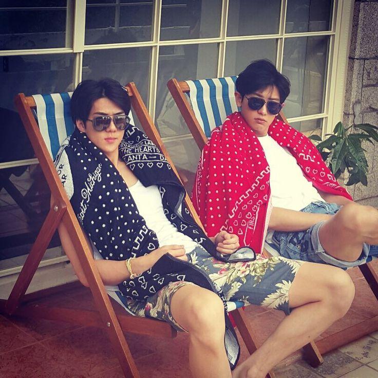 "Sehun and Chanyeol - ""C+1"" | oohsehun Instagram Update"