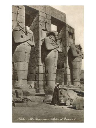 Ramesseum, Tebas (Egipto)