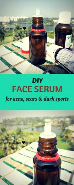 diy face serum for acne - DIY Face serum for acne is the greatest thing you can ever give to your skin. Here i am going to share my first experience how i cleared my acne.