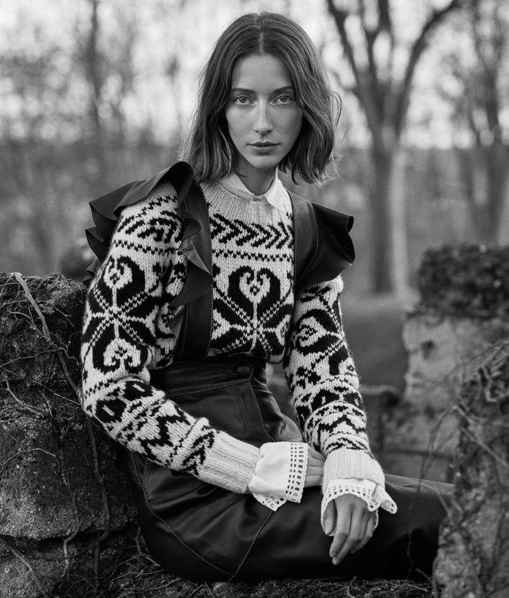 ELLE France January 2017 Alana Zimmer by Hordur Ingason