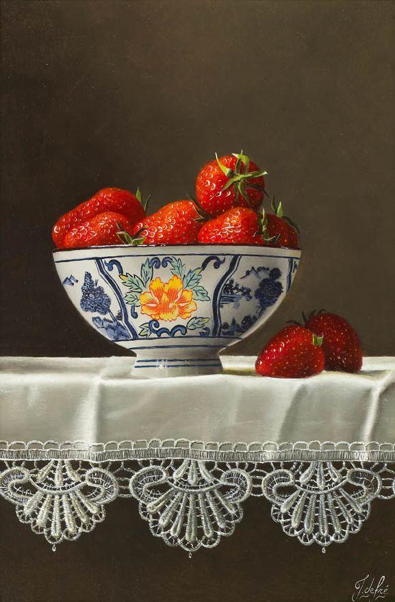 Johan de Fre. Strawberries