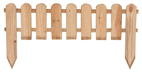 steccati in legno per aiuole