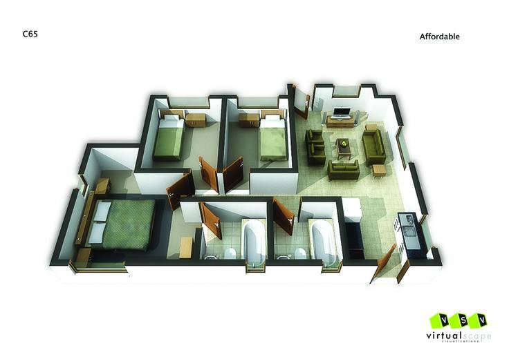 Affordable Unit ,65. Go to website: bit.ly/1hcfKVn #affordablehousing #property #developments
